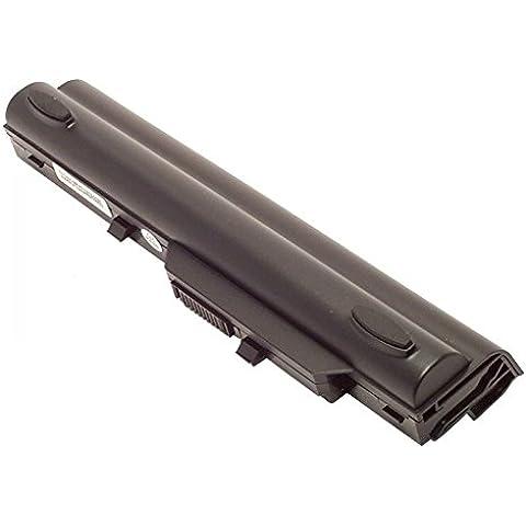 Medion Akoya E1210 mini netbook, Li-batteria agli ioni di litio 4400 mAh, 11,1 V, Nero, (Netbook 6 Cell Battery)