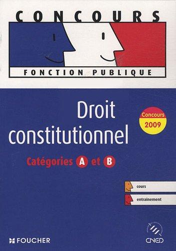 Droit constitutionnel : Catégories A et B