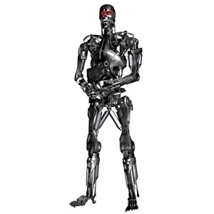 Figura Terminator Endoesqueleto 45 Cms Con Luz en los Ojos 4