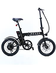 REVOE Lite Vélo Mixte Adulte, Noir