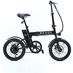 REVOE Lite bicicleta Unisex, negro