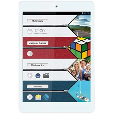 "Vexia Zippers-Tablet 7,8 "", GPS, Wi-Fi, Bluetooth, Intel Atom Z2580, 16 GB, RAM Da 1 GB, Android 4,2.2)"