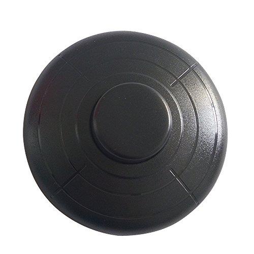 Preisvergleich Produktbild NewCY In-Line Fußschalter für Standardlampe für 2 oder 3 Core Flex In Schwarz für Stehlampe und Tischleuchte 70 mm / 2,75 Zoll Durchmesser