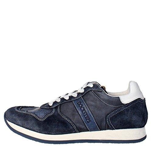 Docksteps DSE103392 Sneakers Uomo Camoscio/nylon Blu Blu 46