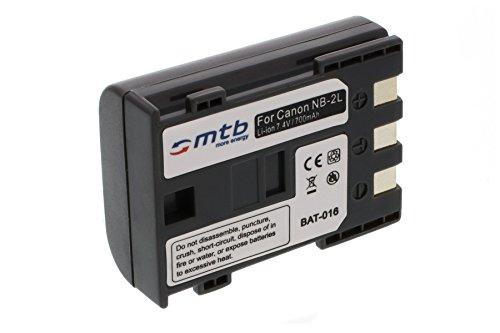 Batteria NB-2L per Canon EOS 350D, EOS 400D, EOS Digital Rebel Xti / Powershot...vedi lista!