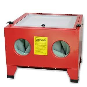 DXP NEU Sandstrahlkabine Sandstrahlgerät 90 Liter Profi CPS01