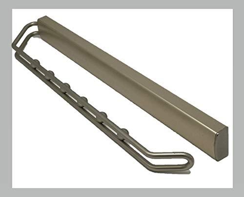Schrank Organisatoren Ausziehbares Closet Valet Rod Verstellbar Kleiderschrank Kleidung Schiene, Satin Nickel 48,3cm -