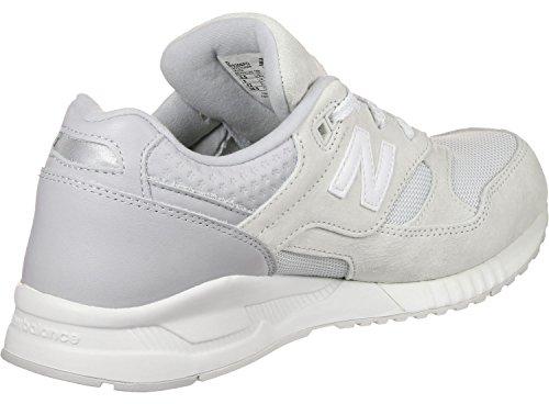 New Balance Herren M530 Sneakers Weiß Grau