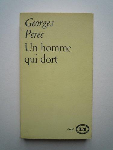 Un Homme Qui Dort [Pdf/ePub] eBook