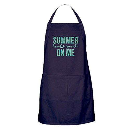 CafePress Tablier de cuisine avec poches Motif Summer Looks Good On Me