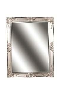 spiegel wandspiegel celia antik silber barock 70 x 90 cm. Black Bedroom Furniture Sets. Home Design Ideas