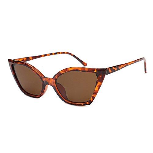 YWLINK Damen Katzenauge Rahmen Sonnenbrillen Integrierte UV-GläSer Unisex Klassisch Strand Urlaub...