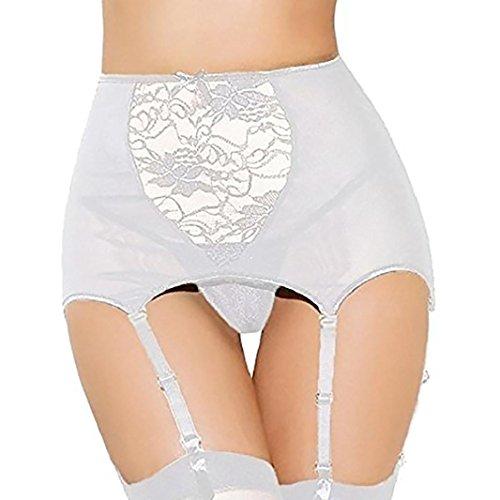 15fa6dd824 KOLY Prospettiva sexy delle donne Lingerie per reggicalze con reggicalze  Bustino corsetto Sexy vita con Reggicalze