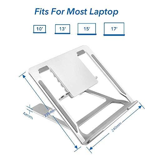 Verzinkt Solide Regal (YBQB Notebook - Aluminium - Legierung tragbaren Halterung Desktop - Regal Block 6 silbernen 1-100 eine Anpassung DER)