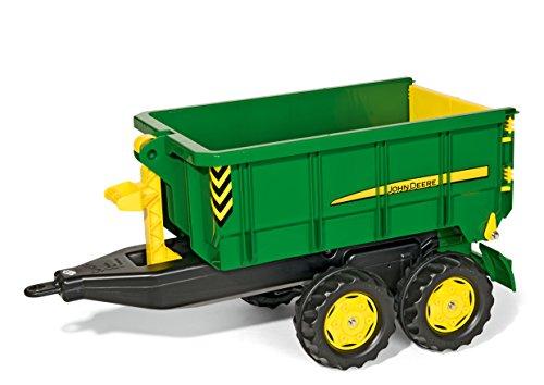 Trettraktor Anhänger rolly toys 125098 - rollyContainer John Deere