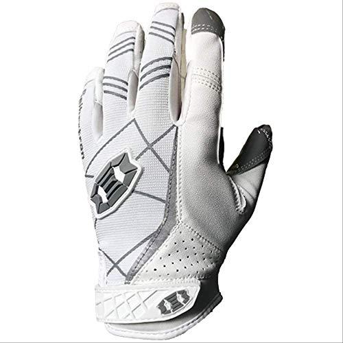 STBB Knieschoner Helm Schwarze American Football Handschuhe Outdoor Sport Camping Männlich Und Weiblich Haltbarkeit Handschuhe Rugby Handschuhe S Weiß