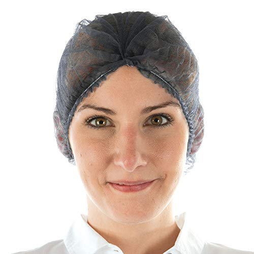 Einweghaube, Haarschutzhaube - PP Vlies, Einweghaarnetz aus Polypropylen-Vlies, leicht - im Sparpack oder im Spender, Farbe:schwarz, Größe:Sparpack (Was Ist Die Bedeutung Der Produktion)