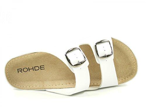 Rohde Riesa, Ciabatte Donna Blanc
