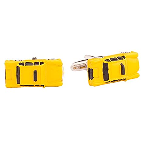 CUF061-Men's taxi cab cufflinks with gift box set