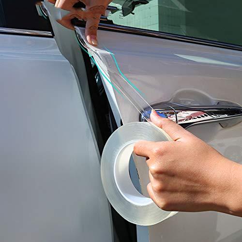 ZAMAOZHU Aufkleber Autotürschwellen-Aufkleber-Schutz Multifunktions-Nanoband-Selbststreifen-Auto schützen Sich Kratzfest -