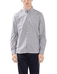 ESPRIT Herren Freizeit Hemd mit Feinen Oxford Streifen