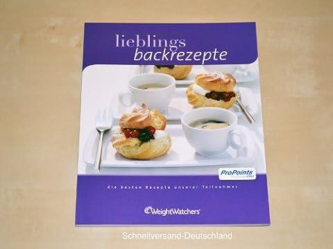 Weight Watchers ProPoints Backbuch Lieblings Backrezepte *NEU 2011*