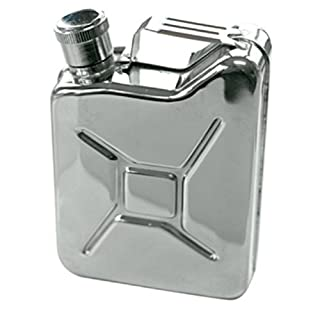 Jerry Can Style Hip Flask 5oz