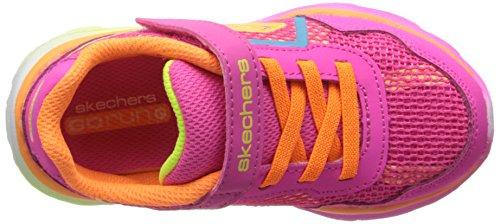 Skechers Go Run Ridelil Rider, Baskets Basses fille Multicolore - Mehrfarbig (NPMT)
