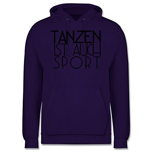 Statement Shirts - Tanzen ist auch Sport - Männer Premium Kapuzenpullover / Hoodie Lila