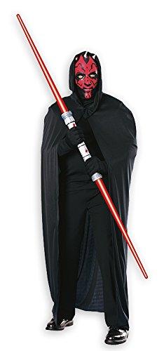 Star Wars Kostümset Darth Maul Halbmaske & Cape Mi