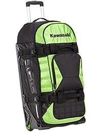 Kawasaki Funda de viaje Ogio bolsa 160 litros de capacidad. Nueva maleta Negro/Verde de bikerworld
