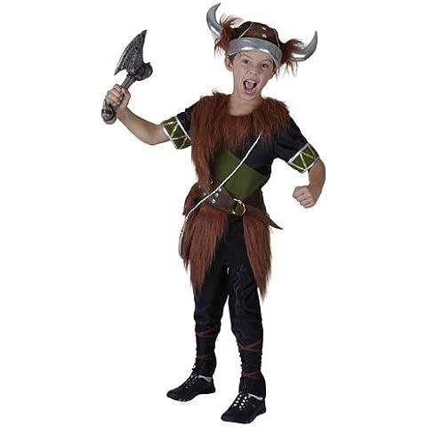 Disfraz de niño de Vikingo Nórdico. 6 - 9 años