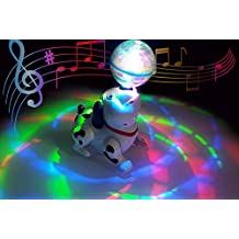Popsugar Musical Dancing Dog with Lights for Kids,