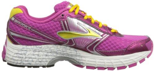 Brooks  Adrenaline GTS G, Chaussures de running enfant mixte Rose - Rose Violet/Dandelion/White