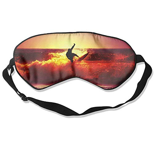 Surfing In The Night Relaxing Moment 99% Eyeshade Blinders Sleeping Eye Patch Eye Mask Blindfold For Travel Insomnia Meditation