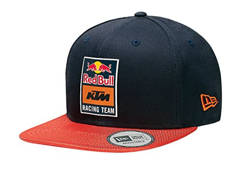 KTM Red Bull Racing Team Crome Logo Flat Cap New Era 9Forty - Red Bull Logo