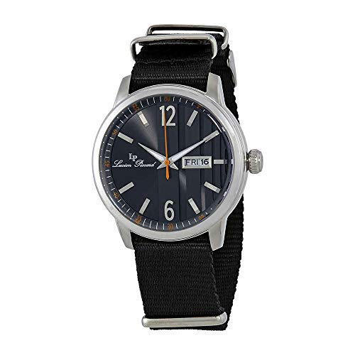 Lucien Piccard Milanese Dial Mens Textile Watch 40027-01-NS