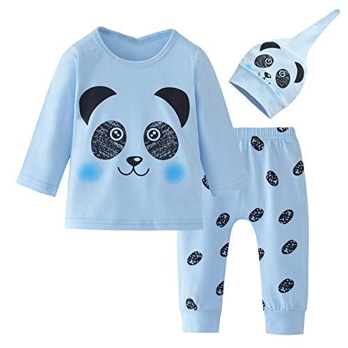 Shiningbaby Baby Pyjamas Set Unisex Cartoon Panada Kleidung Set Junge Mädchen Sleepsuit