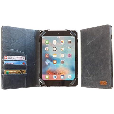 3Q Lujosa Funda Tablet 7 pulgadas Funda 8 pulgadas Carcasa Universal Novedad Mayo 2016 Porta Tablet Case Cover Funda de tablet con soporte de sobremesa Top Diseño exclusivo Suizo