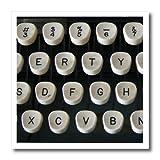 3drose HT _ 12800_ 1diese Alte Schreibmaschine Eisen auf Wärmeübertragung für weiß Material, 820,3cm