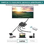 Switch-HDMI-Aluminum-Techole-Commutateur-HDMI-3-Entre-vers-1-Sorties-4K1080P3D-avec-Tlcommande-IR-Supporte-PC-PS4-PS3-Xbox-Lecteur-Blu-Ray-TV-Box-HDTV-DVD-cran-Projecteur