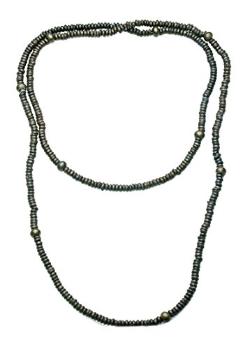 jewelery-box-staple-long-string-of-khaki-wooden-caterpillar-beads-necklacezx39