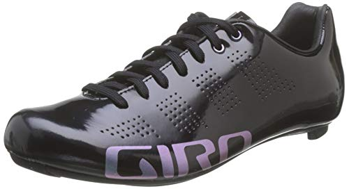 Giro Empire Road, Zapatos de Ciclismo de Carretera para Mujer, Multicolor (Black 000), 41 EU