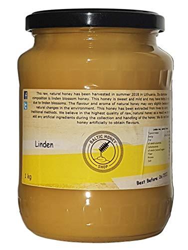 Miel Pura y Natural 1 kg (Tilo)