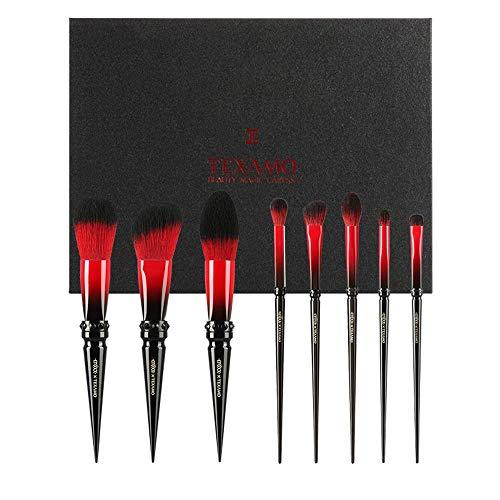 CC-Makeup Brush Pinceaux de Maquillage Pinceau de Maquillage Poudre de Base Professionnelle Poudre pour Le Visage synthétique sans cruauté Envers Le végétalien Blush Fard à paupières