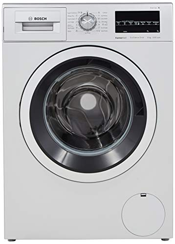Bosch 8 kg Fully-Automatic Front Loading Washing Machine (WAT24464IN, Silver)