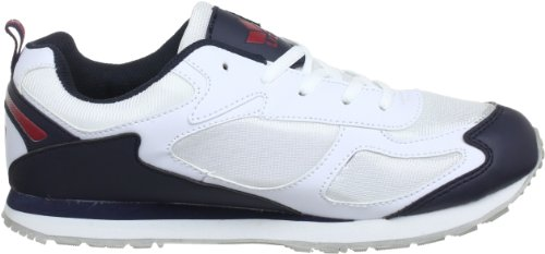 Lico - Nelson, Chaussures De Course Pour Homme (weiss / Mar / Rot)