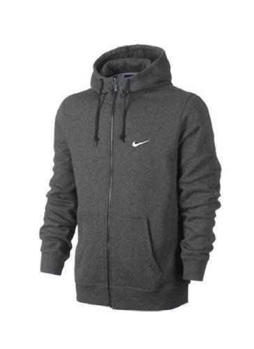 Nike Club Fz Hoody-Swoosh Felpa Con Zip Black