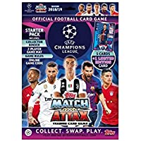 Topps Match Attax Uefa Champions League Starter Pack 2018/19 - con 6 Tarjetas