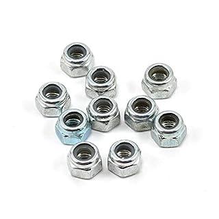 SAB Metric hex locknut Nuts M3 H4(10pcs) - Goblin 500/570/630/700/770 [HC206-S] by Allen B by Allen Schwartz